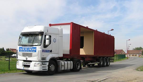 Selection de containers dernier voyage pour construire maisons containerder - Acheter maison conteneur ...