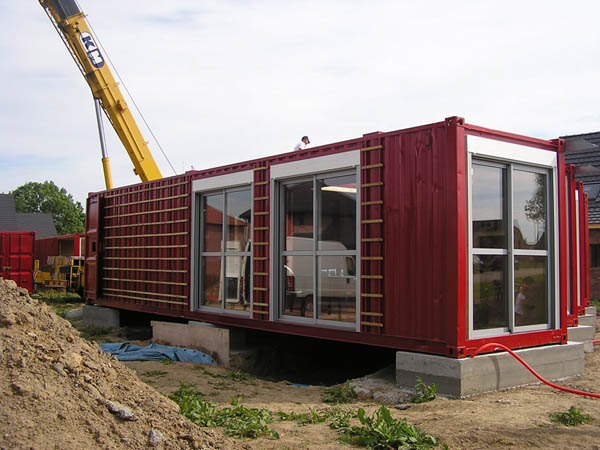 Amenagement containers containerderniervoyage for Plan amenagement container habitable