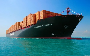 container ship 4